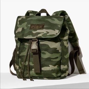 VS PINK CAMO MINI BACKPACK